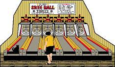 Skee Ball of Funland